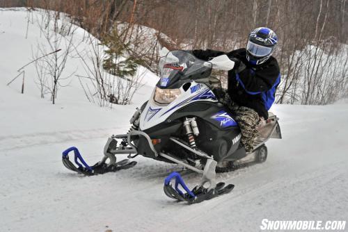Yamaha Nytro with Split Rail Skis