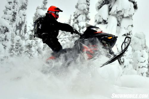 2014 Ski-Doo Summit X Action