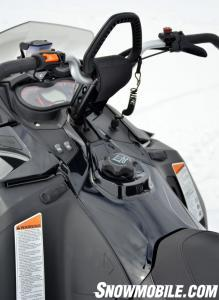 2014 Ski-Doo Summit X Cockpit