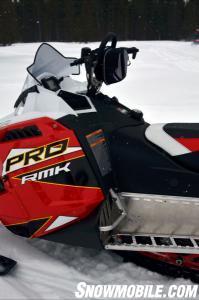 2014 Polaris 800 Pro-RMK Cockpit