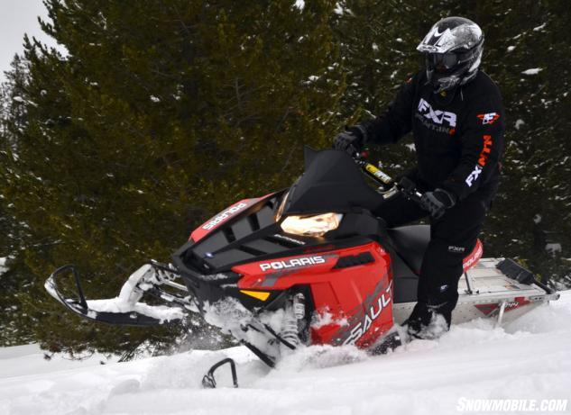 2014 Polaris Switchback Assault Action Red