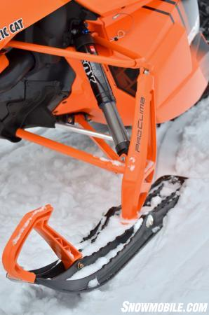 2014 Arctic Cat M9000 162 Front Suspension