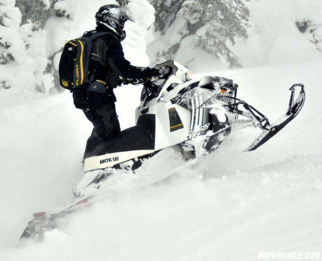2014 Arctic Cat XF 8000 High Country Action Deep Powder