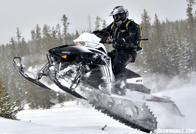 2014 Arctic Cat XF 8000 High Country Action Jumping