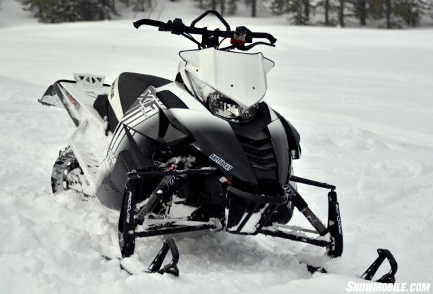 2014 Arctic Cat XF 8000 High Country Front