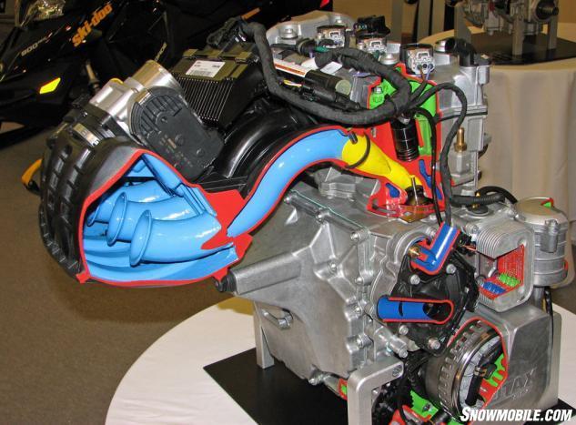 2014 Ski-Doo Expedition Sport ACE 900 Engine Cutaway