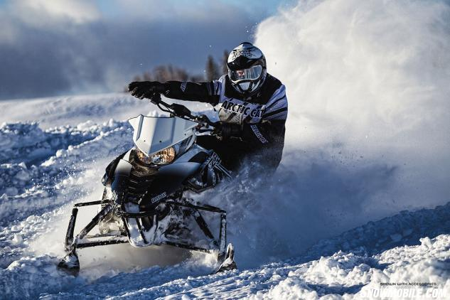 2014 Arctic Cat ZR 9000 Limited Action Front
