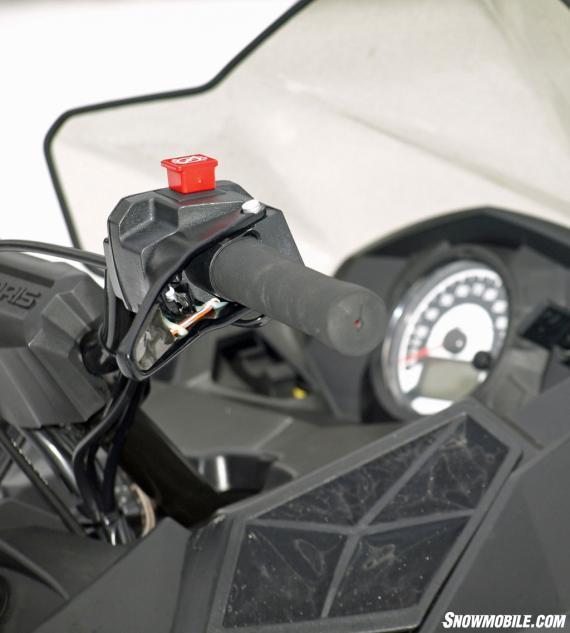 2014 Polaris 600 Indy Handlebar