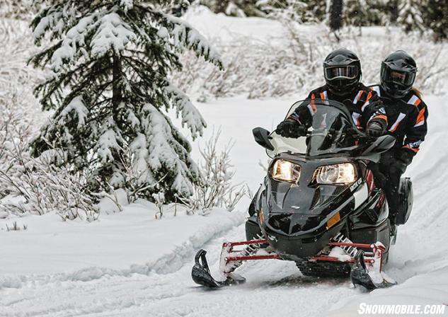 2014 Arctic Cat Touring TZ1 Action