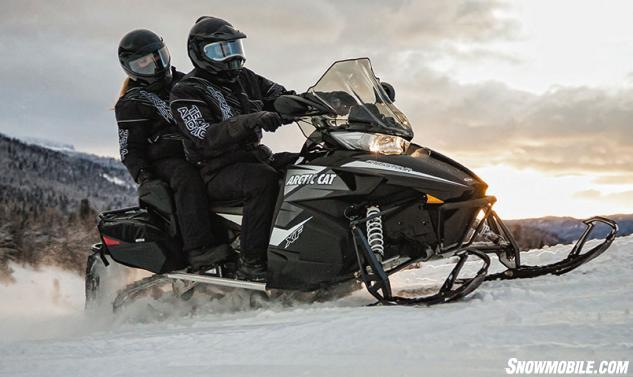 2014 Arctic Cat XF 7000 CrossTour 2-Up Action