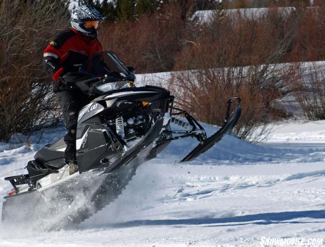 2014 Arctic Cat XF 7000 CrossTour Action Jump
