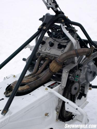 Yamaha Engine in Arctic Cat Chassis
