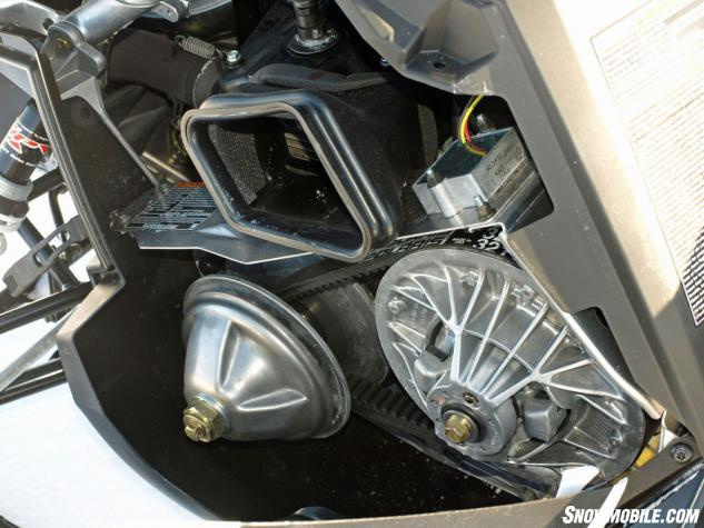 2014 Polaris 550 Indy Adventure CVTech Air Duct