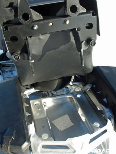 2014 Polaris 550 Indy Adventure Rear Seat Attachment Point