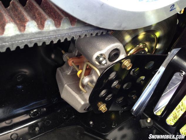 2014 Yamaha SR Viper Brake Brace
