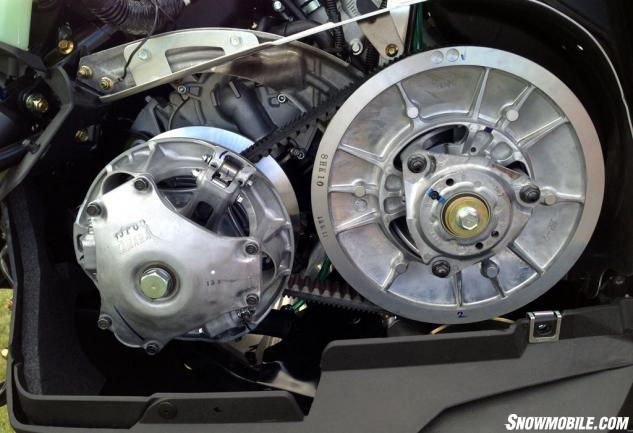 2014 Yamaha SR Viper Clutch Belt