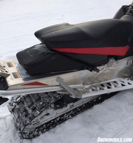 2014 Yamaha SR Viper Seat and Tunnel Bag