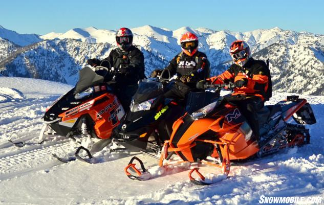 2014 800cc Mountain Snowmobiles