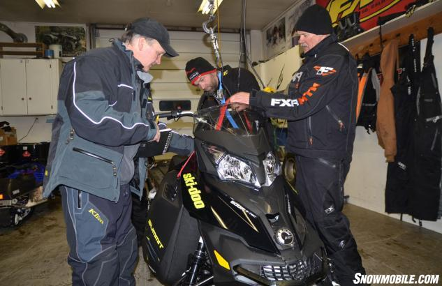 2014 Ski-Doo XM Summit X Lift
