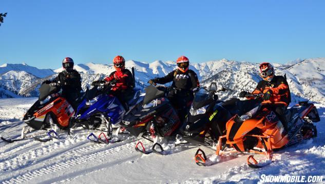 2014 Mountain Snowmobiles