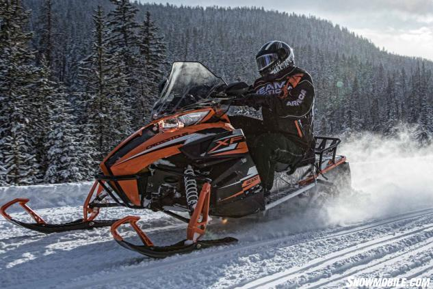 2015 Arctic Cat XF6CT Action