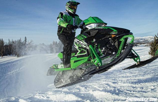 2015 Arctic Cat ZR 6000 RR Action