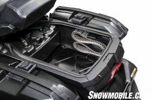 2015 Arctic Cat Pantera 7000 belt holder auxiliary fuel tank