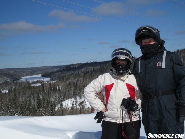 Abitibi Canyon Snowmobile Tour Winners