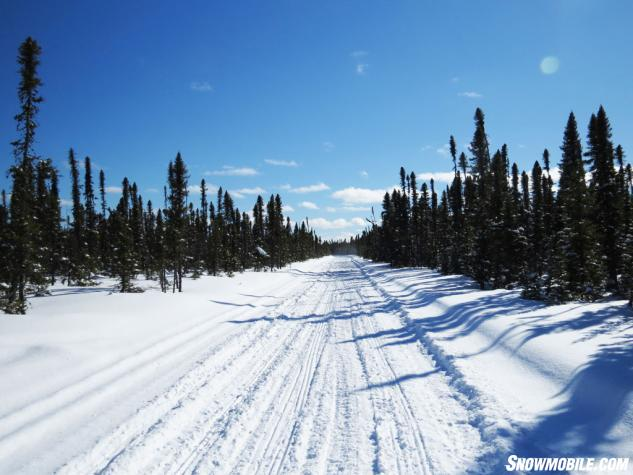 Northeastern Ontario Snowmobile Trail
