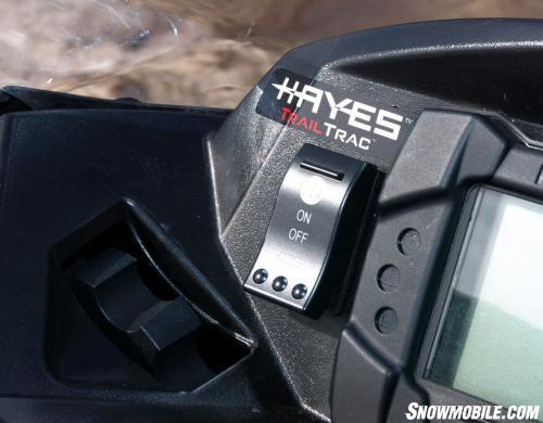 Hayes Trail Trac Control Switch