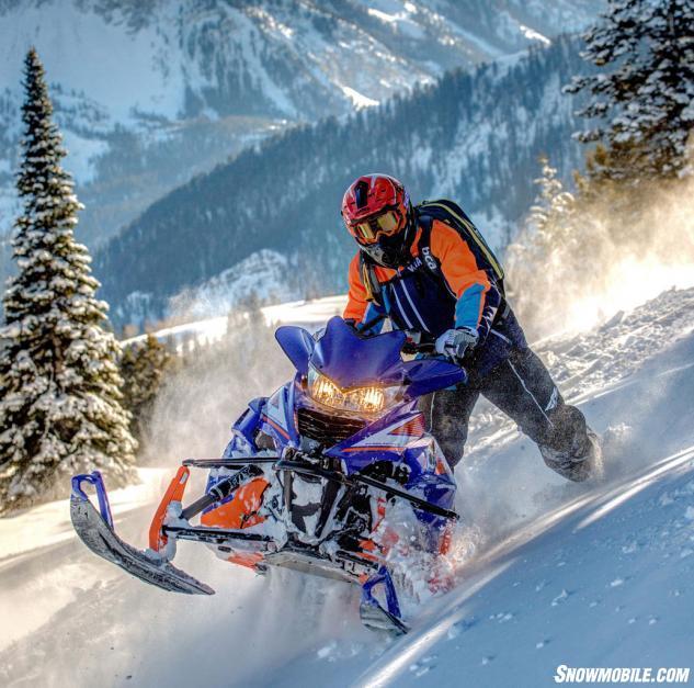 2015 Yamaha Viper M-TX 162 Action Sidehill