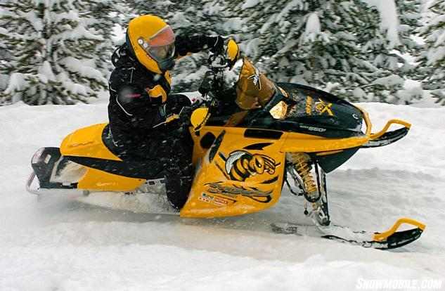 2006 Ski-Doo MXZ 550 X Action
