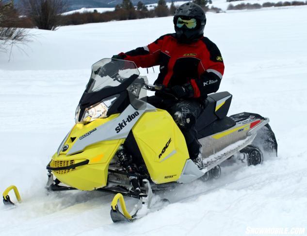 2015 Ski-Doo MXZ Sport ACE 600 Action Front