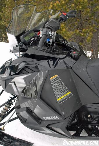 2015 Yamaha SR Viper R-TX DX Windshield