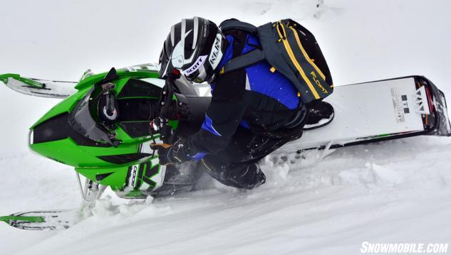 2015 Arctic Cat M8000 HCR Action Cornice Slide