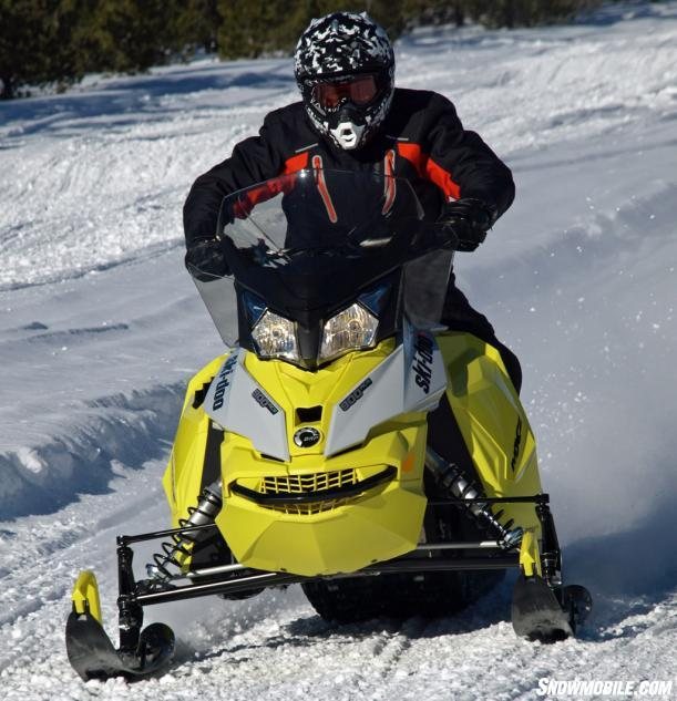 2015 Ski-Doo MXZ TNT ACE 900 Action Front