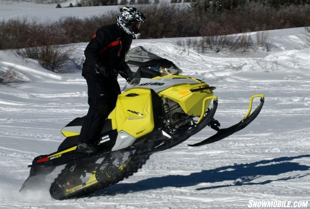 2015 Ski-Doo MXZ TNT ACE 900 Action Jump