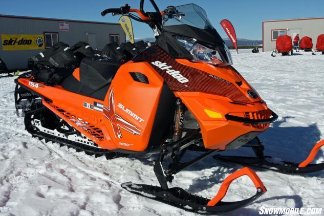 2015 Ski Doo Xm Summit X 800r Review Snowmobile Com