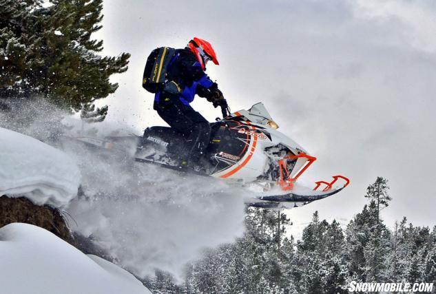 2015 Arctic Cat M8000 Sno Pro Action Jump