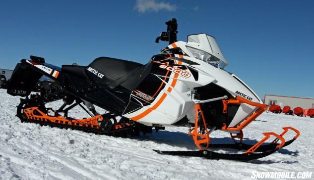 2015 Arctic Cat M8000 Sno Pro Painted Tunnel