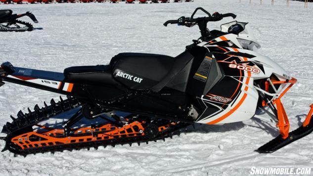 2015 Arctic Cat M8000 Sno Pro Profile