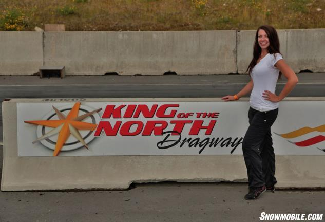 Jessica Kline King of the North Dragway
