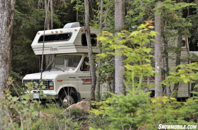 King of the North Dragway Camping