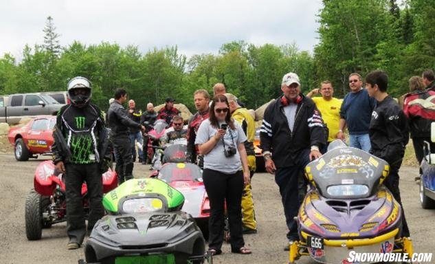 King of the North Dragway Staging Area