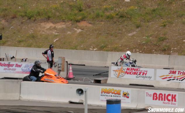 Snowmobile Racing Northern Ontario