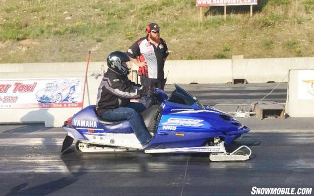 Yamaha SRX 700 Drag Racing