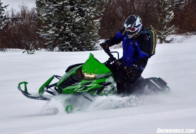 2015 Arctic Cat M7000 Sno Pro Action Side Sliding