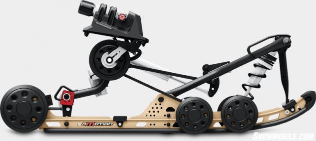2015 Ski-Doo Renegade Adrenaline 600 ETEC rMotion