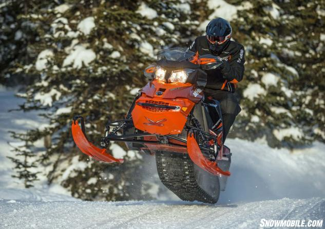 2015 Ski-Doo Renegade X 800 Action Jump