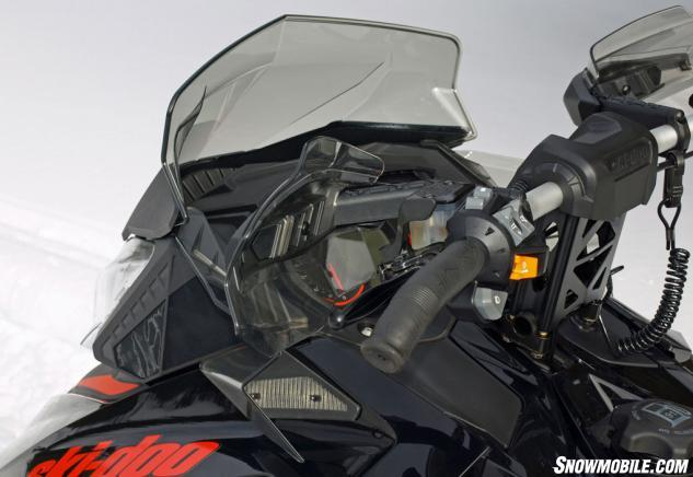2015 Ski-Doo Renegade X 800 windhsield handguards